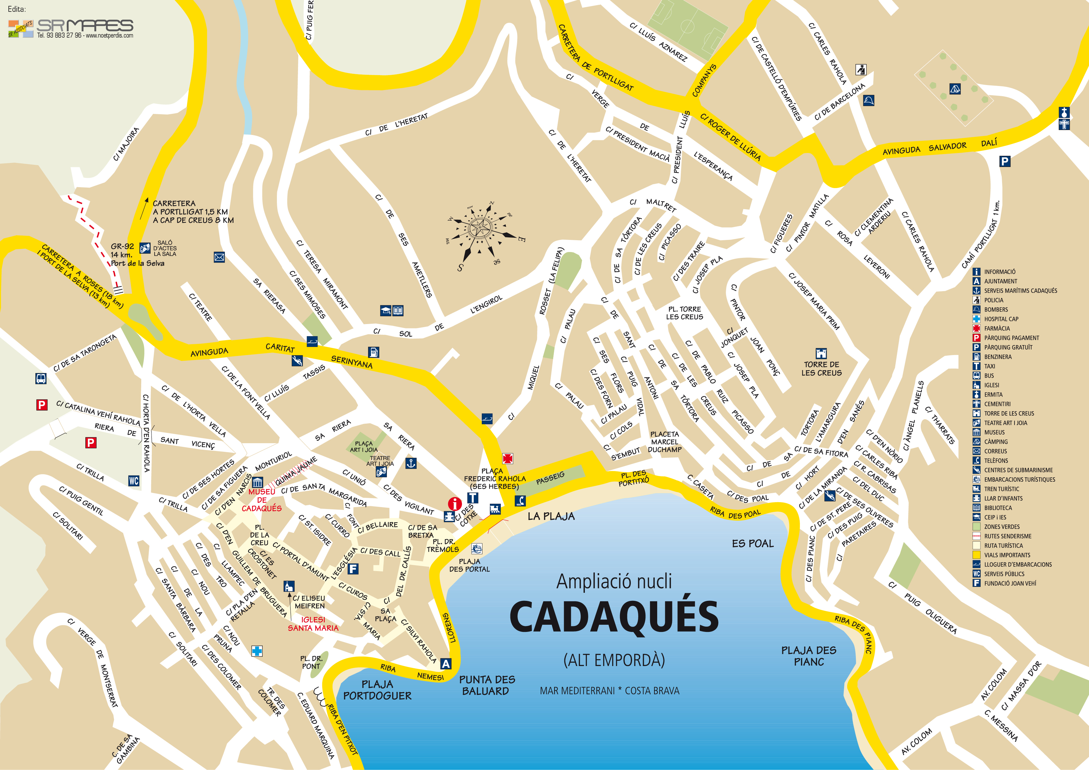 Cadaqués   tourism, gastronomy, accommodation, hotels, restaurants